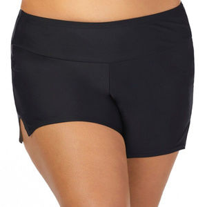 Swim Shorts Black Plus Size 18W NWT
